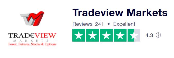 Tradeview Markets Trust Pilot reviews
