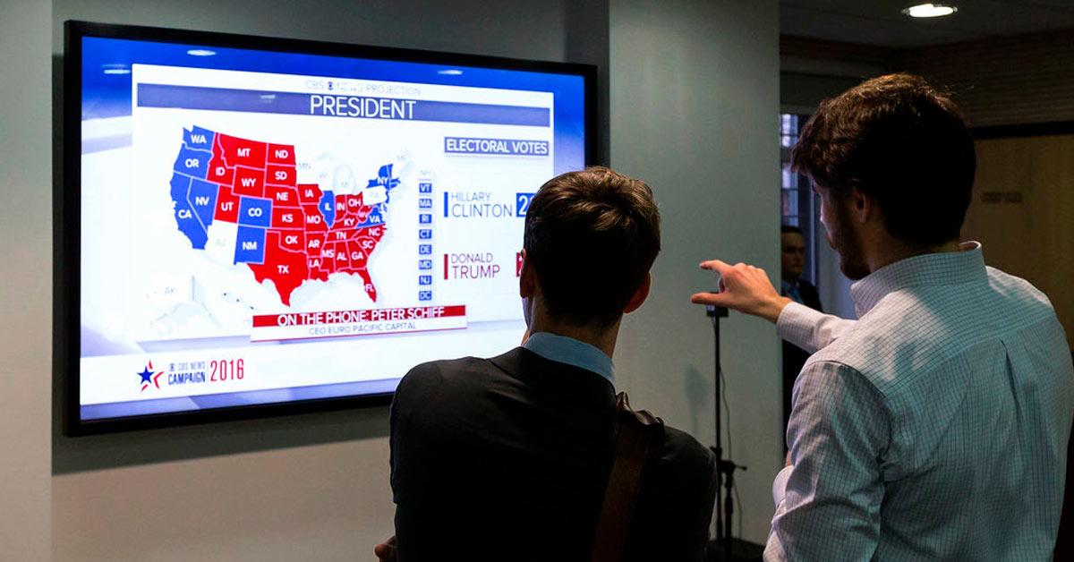 U.S. indices gain ahead of Trump vs Biden