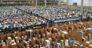 Amazon leads US Stocks rally