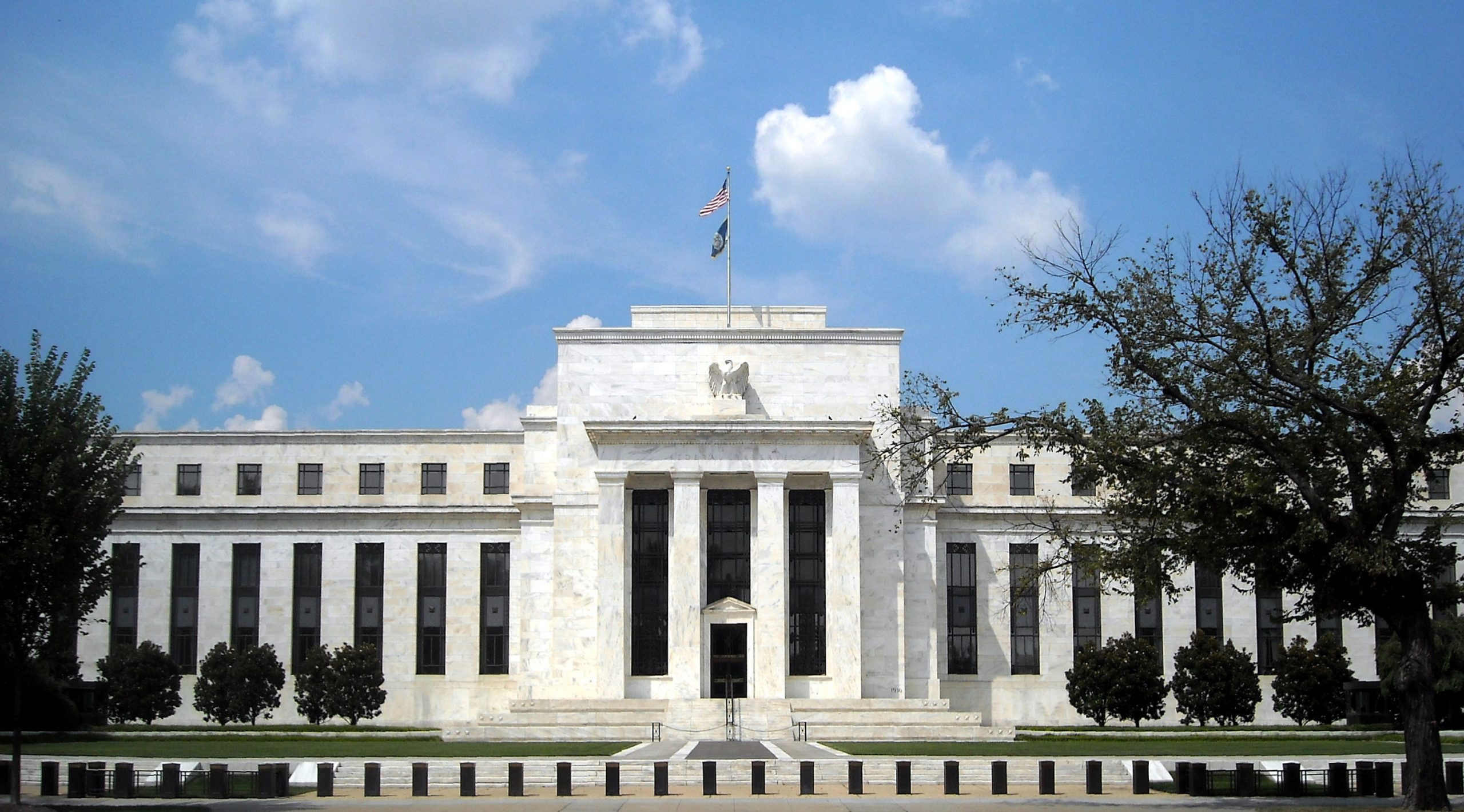 The U.S federal reserve building