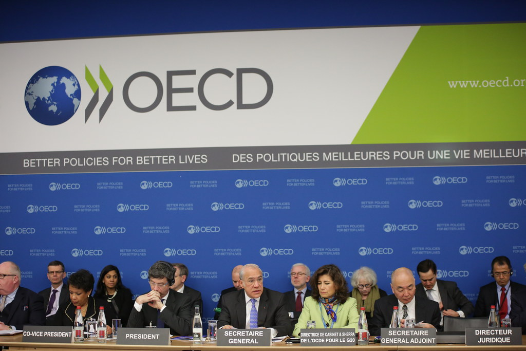 OECD increases global growth forecasts giving some hope that the end of the pandemic is near