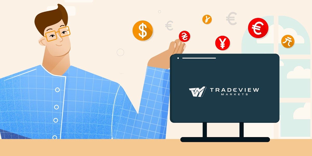 How to trade Forex with tradeview, chose from three account types
