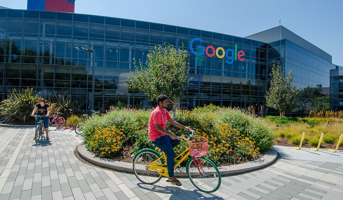 Google HQ. Alphabet, googles parent company reported higher than expected earnings