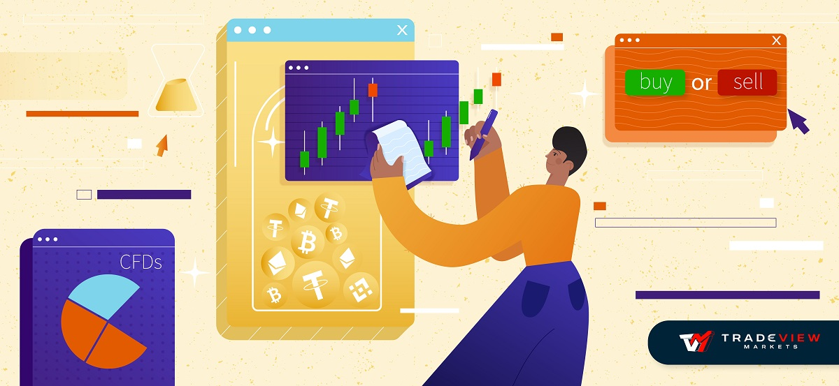 The full guide on how to trade cryptocurrency with tradeview