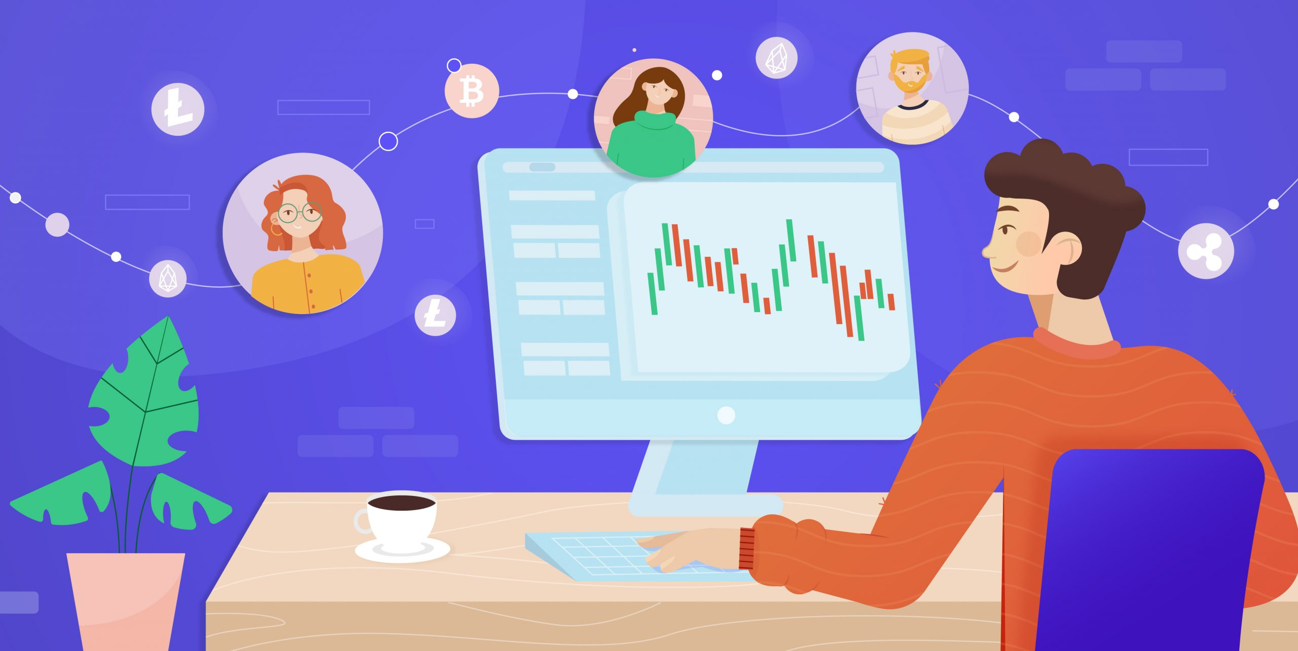 What is social trading - a featured post on tradeview's surfs up