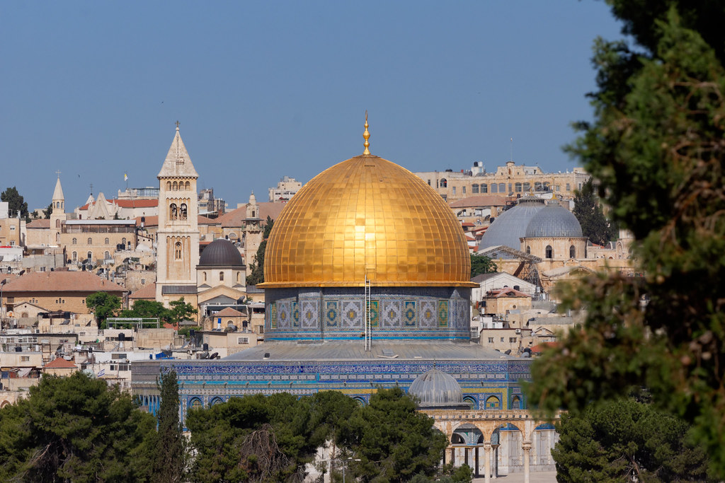 Jerusalem, one of the focal points between the Israel/Palestine conflict