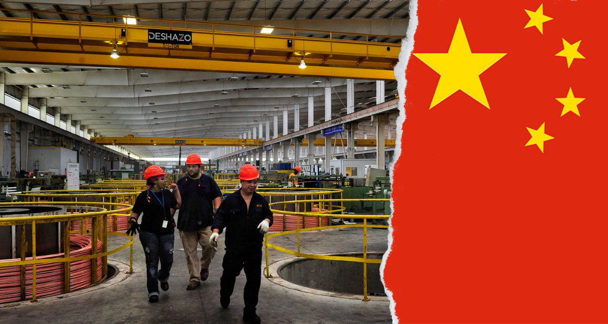Chinese manufacturing pricesrises to highest level in 12 years