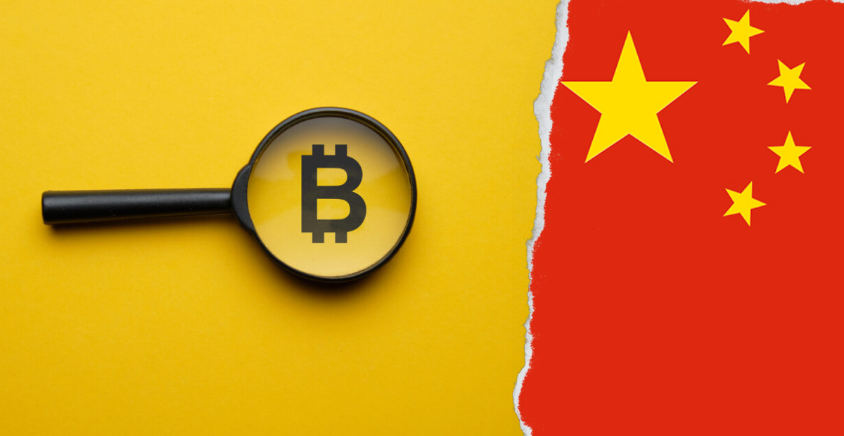 Chinese crackdown on cryptocurrency leads to a massive Bitcoin sell off sending BTC down 10%