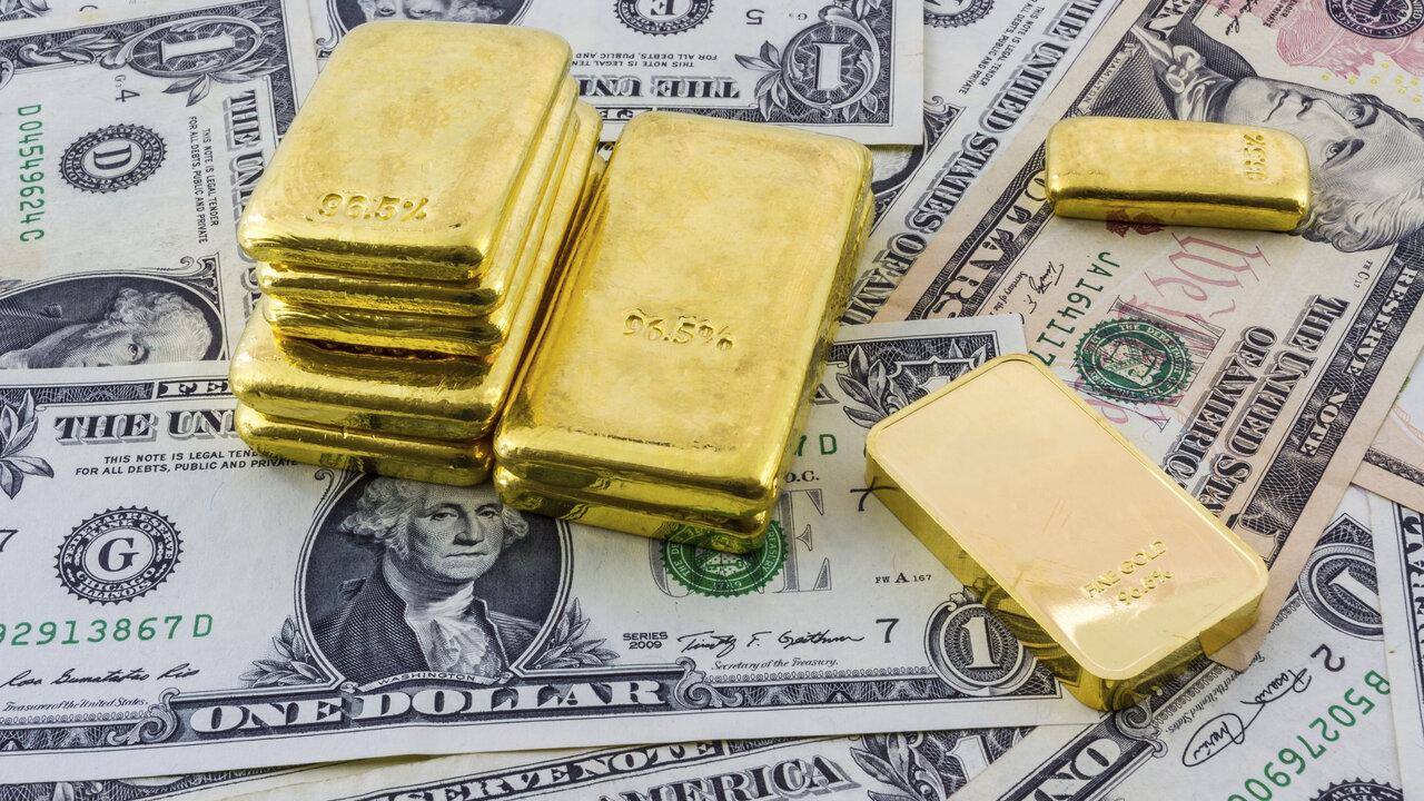U.S dollar un against gold prices